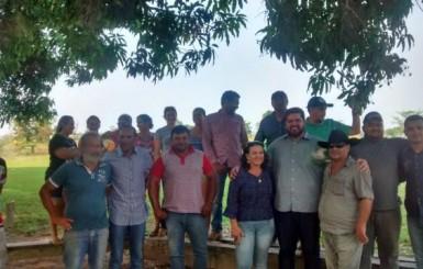 Jean Oliveira visita Alta Floresta D'Oeste e recebe demandas da população
