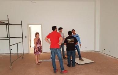 Rolim de Moura: Caixa Econômica realiza primeira medição na Praça PEC