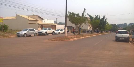 Velório de criança encontrada morta no Rio Machado gera comoção em Cacoal, RO