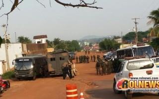 17ª Brigada de Infantaria e Selva desenvolve mega operação de revista no mini presídio de Cacoal