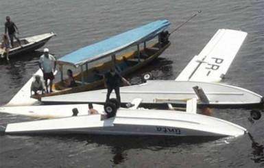 Amazonas: Avião com cinco ativistas do Greenpeace cai no Rio Negro