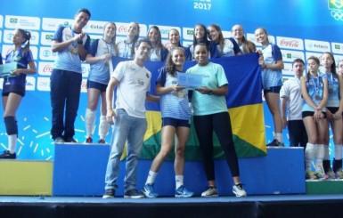 Atletas de Rondônia são medalhas de ouro e de bronze nas modalidades coletivas dos Jogos Escolares da Juventude, em Brasília