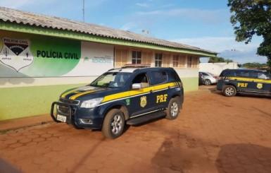 PRF e PC realizam operação contra o tráfico de drogas