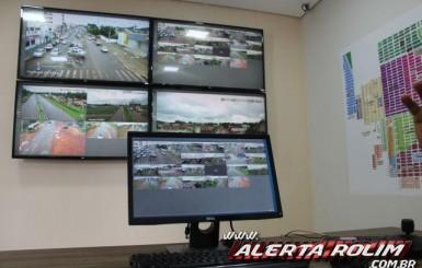 Videomonitoramento é inaugurado em Rolim de Moura