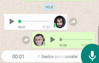 WhatsApp vai mudar o recurso de gravar áudio