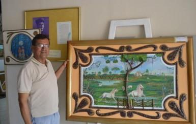 Artista Colombiano faz turnê pelo Brasil e mostra sua arte em Rolim de Moura