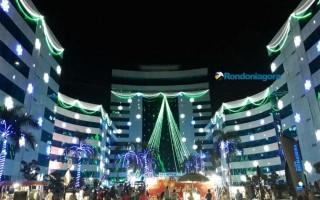 Complexo do CPA recebe o Natal de Luz