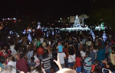 Rolim de Moura: Natal de Luz tem recorde de público; mais de 4 mil pessoas