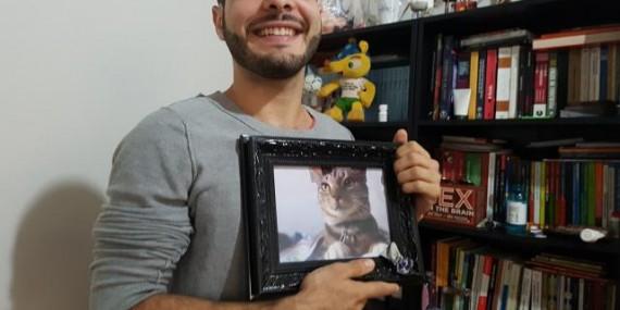 O portovelhense Mahmoud, do BBB18, não tem TV em casa