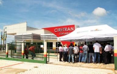 Sociedade de Corumbiara recebe nova e moderna sede da Ciretran