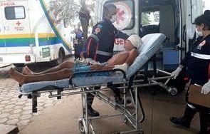 Adolescente é socorrido em estado grave após ser atacado a pauladas, em Porto Velho