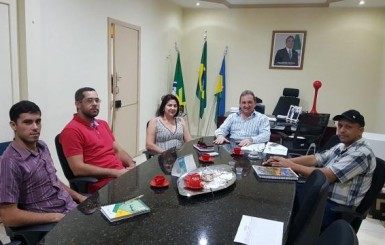 Emater busca apoio da Prefeitura de Rolim de Moura para realização da 3ª rodada de negócios da Zona da Mata