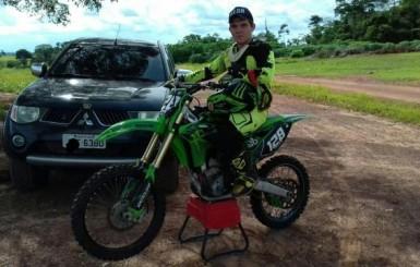 Felipe Custódio participará neste final de semana da 3ª etapa do Campeonato de Motocross em Rolim de Moura