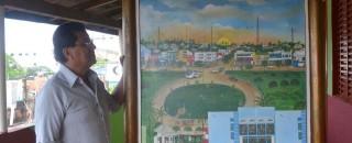 Artista Plástico retrata em detalhes região central de Rolim de Moura