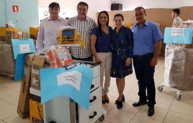 Emenda de Marinha Raupp viabiliza equipamentos para 26 hospitais e unidade de saúde de Rondônia