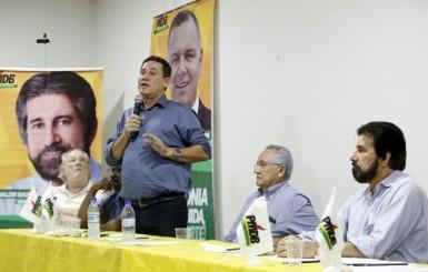 MDB reúne pré-candidatos e militantes em Ji-Paraná para discutir mudanças nas regras eleitorais