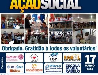 Rolim: 5º Dia de Ação Social leva atendimentos médicos gratuitos para a população