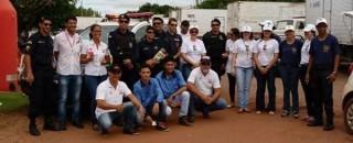 """Rolim: CIRETRAN, COMTRAN, PM e Rádio Rondônia realizam Pit Stop em comemoração ao """"Dia Internacional da..."""