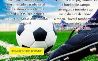 Rolim: Festa do Esporte Clube Juventude será nos dias 21 e 22 de abril na linha 196