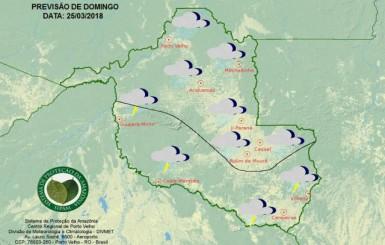 Sipam prevê chegada de friagem neste fim de semana em Rondônia
