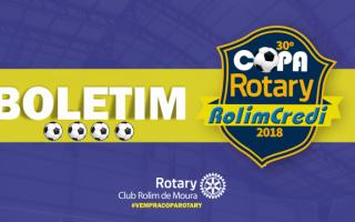 Boletim 30º Copa Rotary: Rodada 19/04/2018