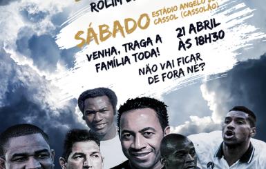 Jogo das Estrelas acontece neste sábado no Cassolão e terá transmissão pelo rádio