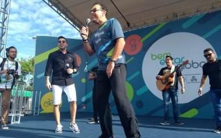 'Senti o astral maravilhoso da cidade', diz Fernando Rocha no Bem Estar Global em Porto Velho