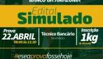 Simulado do concurso do Banco da Amazônia acontece neste domingo em Rolim e São Miguel