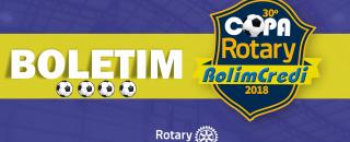 Boletim 30º Copa Rotary: Rodada 01/05/2018
