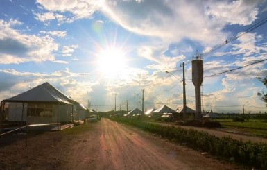 Estandes da 7ª Rondônia Rural Show são montados e feira terá mais de 450 expositores