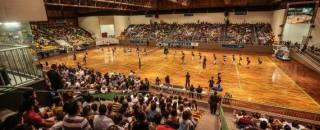 Governo de Rondônia prepara o amistoso entre as seleções brasileira e holandesa de vôlei, no Ginásio...