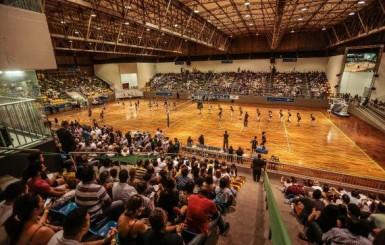 Governo de Rondônia prepara o amistoso entre as seleções brasileira e holandesa de vôlei, no Ginásio Cláudio Coutinho