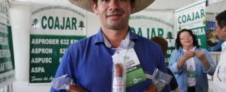 Salame de peixe rondoniense é novidade no pavilhão da agroindústria da Rondônia Rural Show