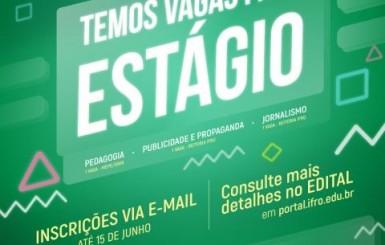 Ifro abre seleção para estagiários de pedagogia, publicidade e propaganda e jornalismo