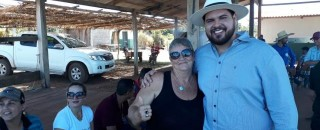 Jean Oliveira cumpre extensa  agenda na Zona da Mata