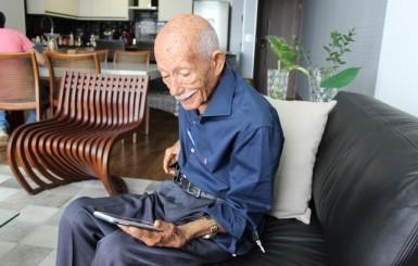 Jornalista de Rondônia vira 'youtuber' aos 96 anos para contar histórias do seringal, II Guerra e encontro com JK