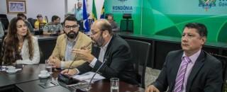 Mesa da Irmandade discute propostas de interesse de Rondônia e Beni em Porto Velho