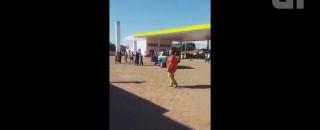 Motorista tenta incendiar posto após frentista se recusar a vender gasolina em Cerejeiras