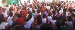 Rolim de Moura – Escola Municipal Cora Coralina realiza Projeto temático a Copa do Mundo