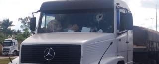 Suspeito de matar caminhoneiro com pedrada era integrante de grupo radical da greve, diz delegado