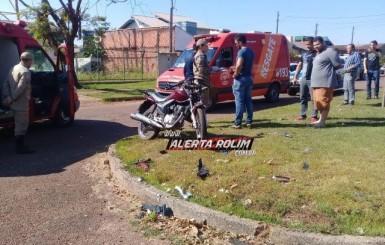 Adolescente sofre acidente ao praticar direção perigosa em Rolim