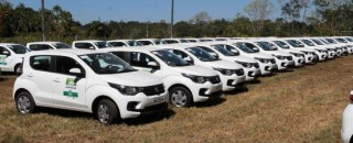 Escritórios regionais da Emater em Rondônia recebem 45 veículos novos para auxiliar no deslocamento na área...