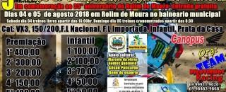 Rolim de Moura – 5ª etapa do Campeonato Regional de Velocross 2018 acontece neste final de...
