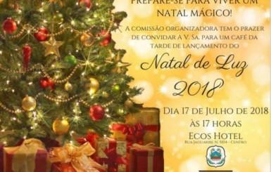 Rolim de Moura: Tradicional Natal de Luz será lançado nesta terça-feira