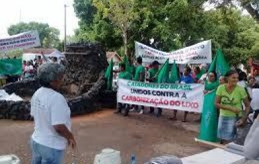 Catadores lutam contra carbonização do lixo urbano