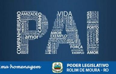 Mensagem para o Dia dos Pais Câmara Municipal de Rolim de Moura