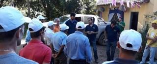 Produtores de café em missão na zona da mata mineira