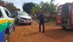 Rolim de Moura - Homem fratura perna em colisão envolvendo moto e camionete da SEMUSA