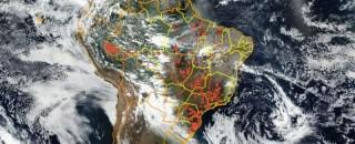Tecnologia permite detectar queimadas em tempo real