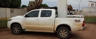 Caminhonete roubada em Ariquemes é recuperada e receptadores são presos em RO